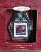 1999 Hallmark Enterprise Stamp