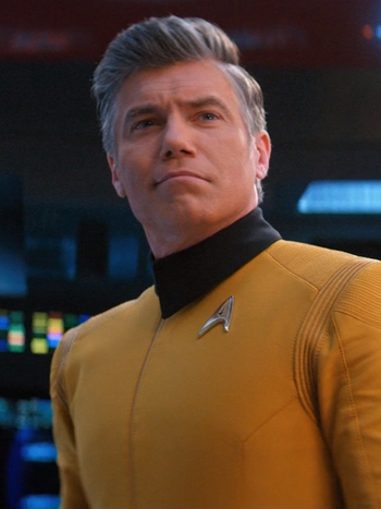 Christopher Pike in 2254