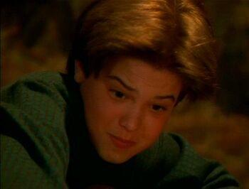 Dimitri Valtane as a child