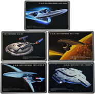 F-toys Star Trek trading cards