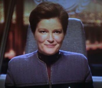 Vice Admiral Kathryn Janeway (2379)