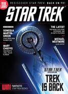 Star Trek Magazine issue 190 cover