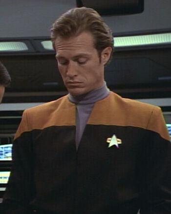 ... as Ensign Michael Parsons
