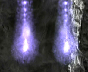 Two photonic lifeforms in their original appearance