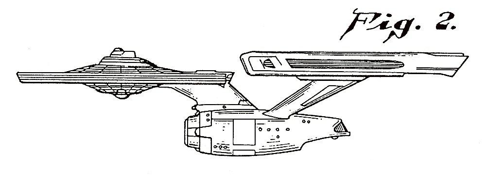 Star Trek design patents