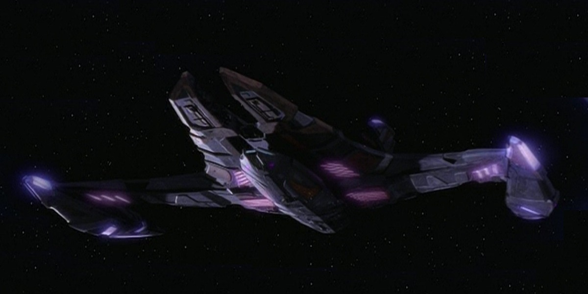 Jem'Hadar battle cruiser
