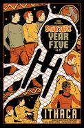 Star Trek Year Five issue 22 cover RI