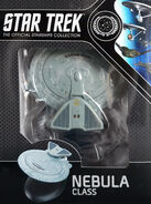 Star Trek Official Starships Collection Nebula Class repack 16