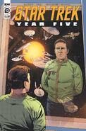 Star Trek Year Five issue 13 cover A