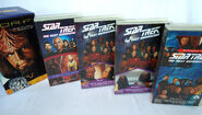 Worf Return to Grace VHS Australia contents 2