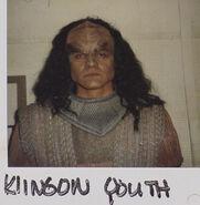 Klingon actor 1, Birthright Part II