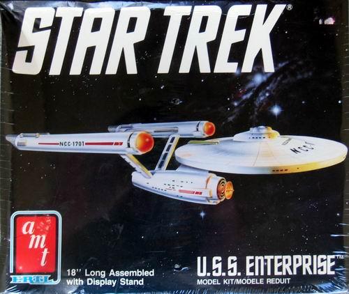 AMT Model kit 6676 USS Enterprise 1989.jpg