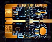 DVD-Menü TNG Staffel 4 Disc 3