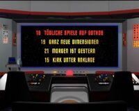 DVD-Menü TOS Staffel 1 Disc 5