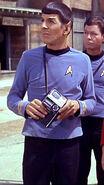 Spock auf einen Planet