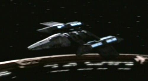 Klaestron starship
