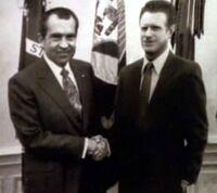 Nixon et Starling dans les années 1970