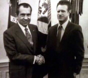 Starling and Richard Nixon