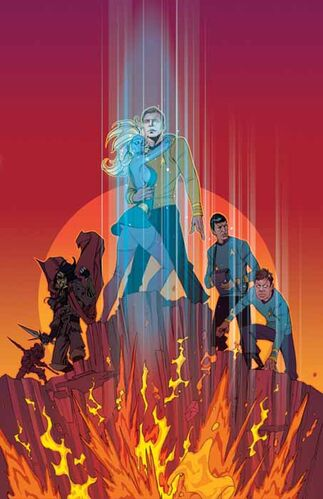 Star Trek: Year Four preview cover