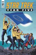 Star Trek Year Five issue 15 cover A