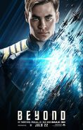 Star Trek Beyond James T. Kirk Poster