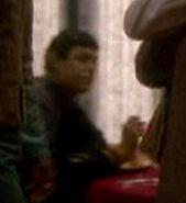 Male Vulcan at Sisko's