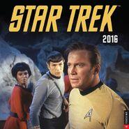 Star Trek Calendar 2016 cover