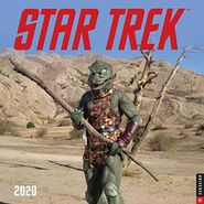 Star Trek Calendar 2020 cover