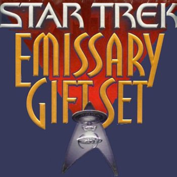 Star Trek Emissary Gift Set