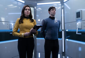 Una and Spock in the turbolift.jpg