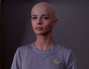 Ilia, a Deltan female in the 2270s