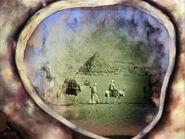 Wächter der Ewigkeit, Beduinen vor den Pyramiden von Gizeh