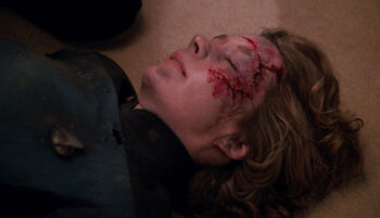 The deceased Marla Aster in 2366