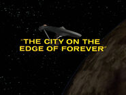 1x28 The City on the Edge of Forever title card
