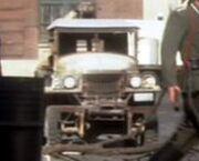Dodge Half-Ton Pickup Truck, front profile military model
