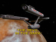 1x26 The Devil in the Dark title card