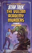 The Vulcan Academy Murders 1988 reprint cover
