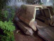 Tuvok's shuttle crashed