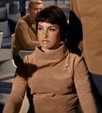 Członek załogi Enterprise w 2254
