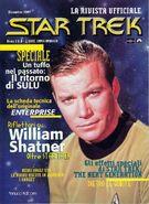 First issue cover Star Trek La Rivista Ufficiale