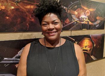 Gersha Phillips in 2018