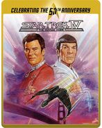 Star Trek IV The Voyage Home Blu-ray cover Region B steelbook reissue