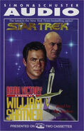 Dark Victory audiobook cover, US cassette edition