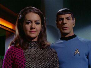 Spock and the Romulan commander.jpg
