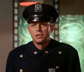 ...as an NYPD officer.