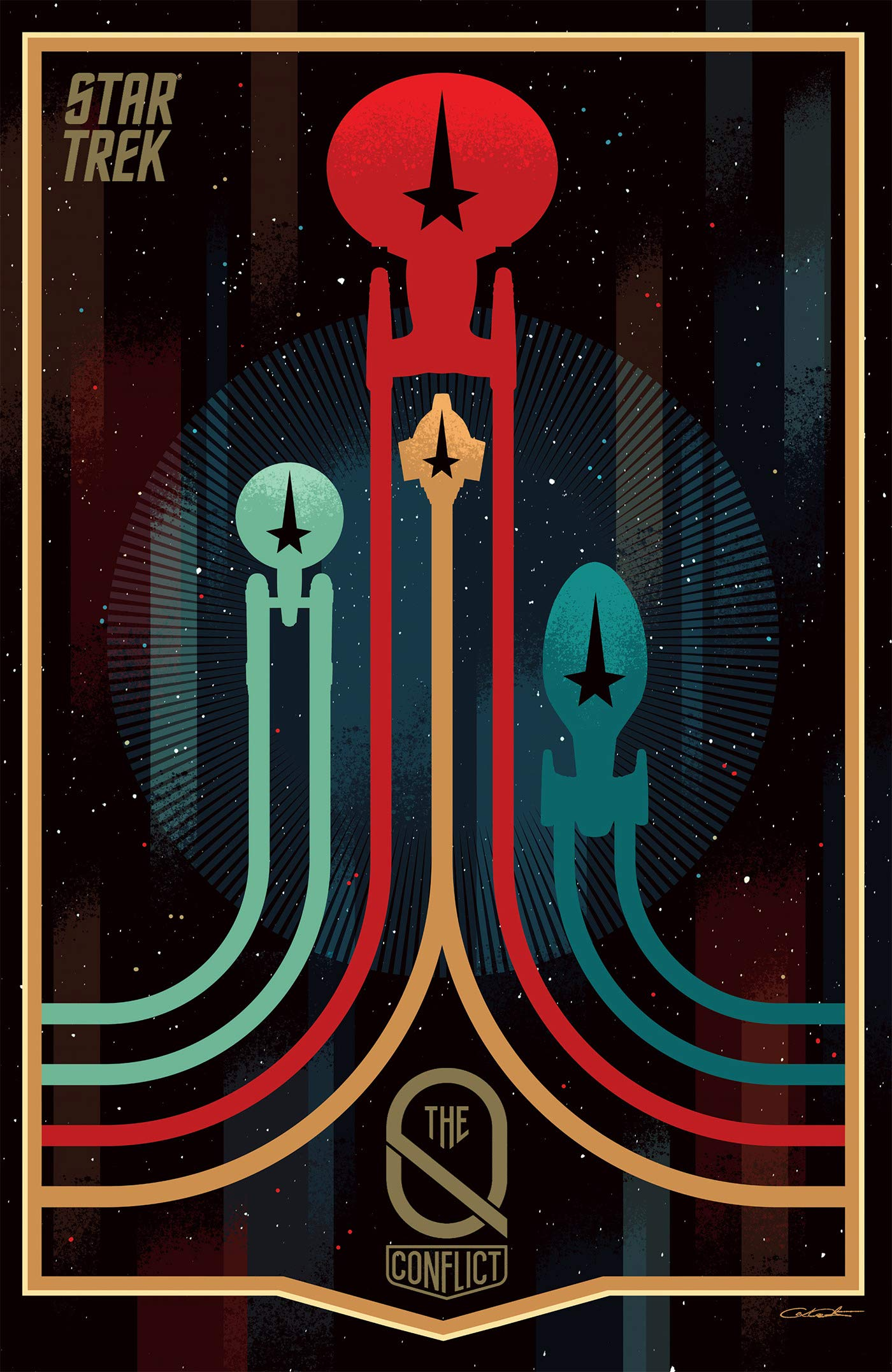 Star Trek: The Q Conflict (omnibus)