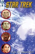 Star Trek The Q Conflict issue 4 cover A