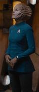 Starfleet sciences uniform skirt, alt 2260s