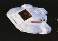 Type 18 shuttlepod model
