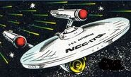 Uss enterprise, early voyages